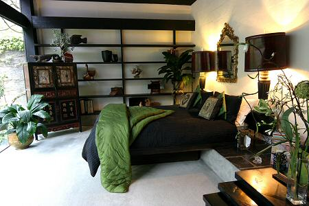 modern bedroom linen